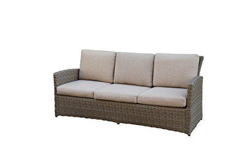 Rattan Lounge Set - Polyrattan Gartenmöbel Garnitur Sofa – Sitzgruppe mit hoher Lehne - braun - 10 cm Kissenauflage - rostfreies Aluminiumgestell - stabil - hervorragende Verarbeitung – top Qualität - preisgünstig (1x 3-Sitzer Sofa, 1x Tisch) Jetzt bestellen unter: https://moebel.ladendirekt.de/garten/gartenmoebel/loungemoebel-garten/?uid=a62462f4-6de5-5665-b1ba-c1f16651179f&utm_source=pinterest&utm_medium=pin&utm_campaign=boards #garnituren #sofas #loungemoebelgarten #garten #wohnzimmer…