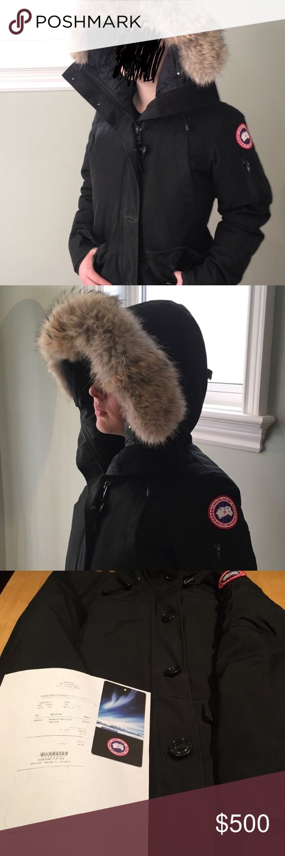 Canada Goose Montebello Parka 🔵 CANADA GOOSE 🔵 barely worn black Montebello Canada Goose jacket!!!! SUPER warm, perfect for this crazy cold winter. Retails for $795. Msg for details/if interested!!! Canada Goose Jackets & Coats