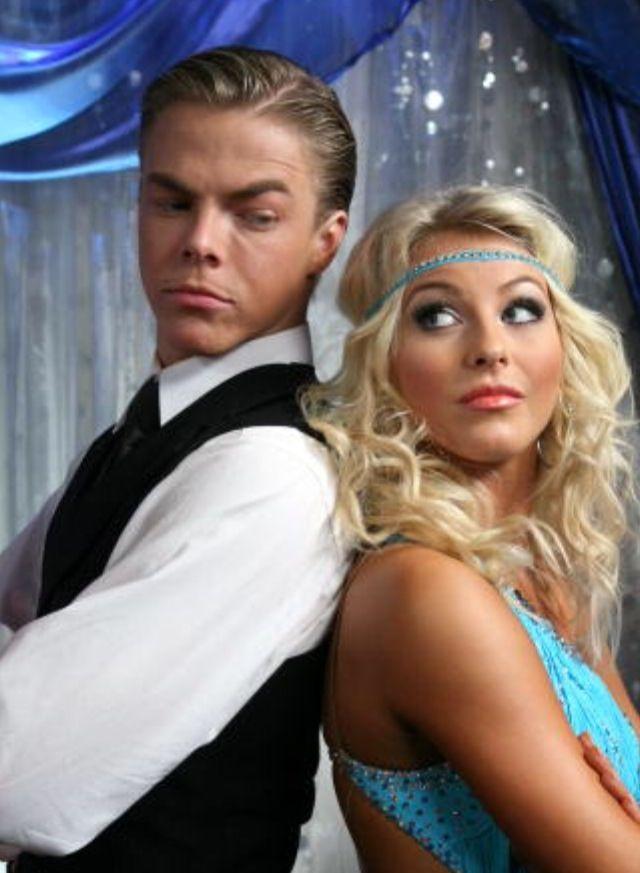 Derek and Julianne Hough