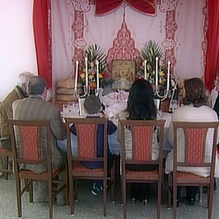 Il pranzo rituale dell'invito a San Giuseppe a Guardia Piemontese in Calabria