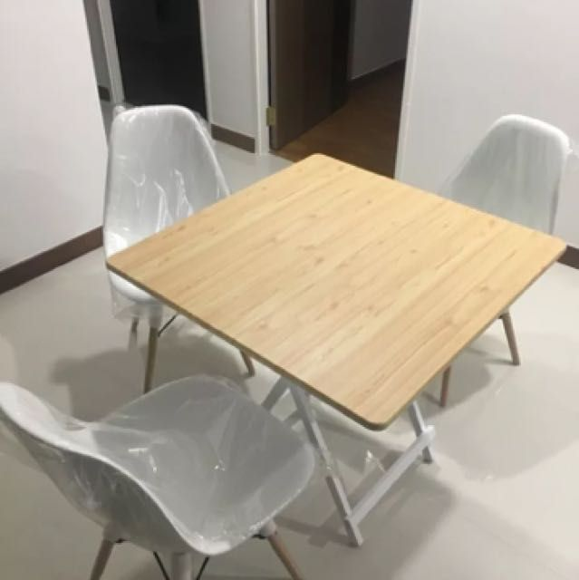 Nice Selling A Brand New Foldable Table ( Chairs Not Included)Minimalist Design,  Easy For