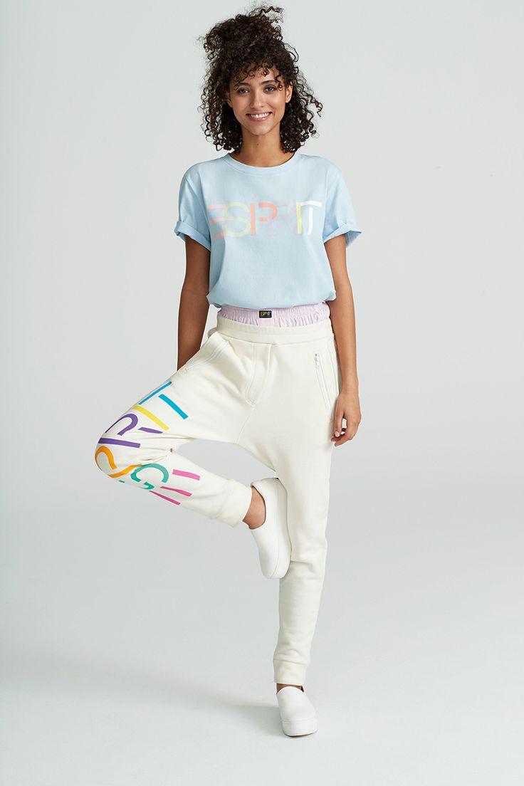 #Esprit #EspritxOC #OpeningCeremony #80s #california #casual #shirt #pants #pastels