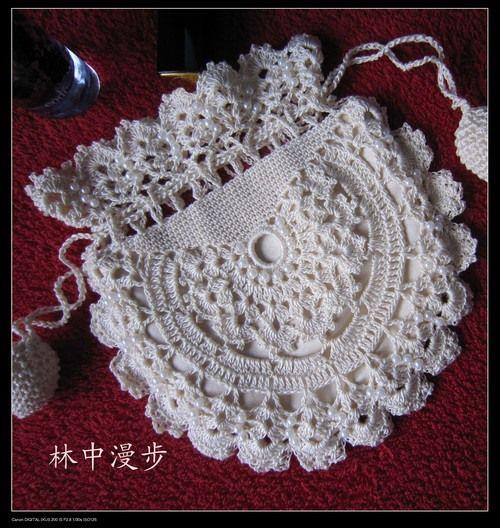 Lace Bags crochet pattern