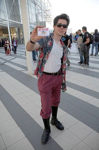 diy ace ventura halloween costume idea 5 - Ace Ventura Halloween Costumes