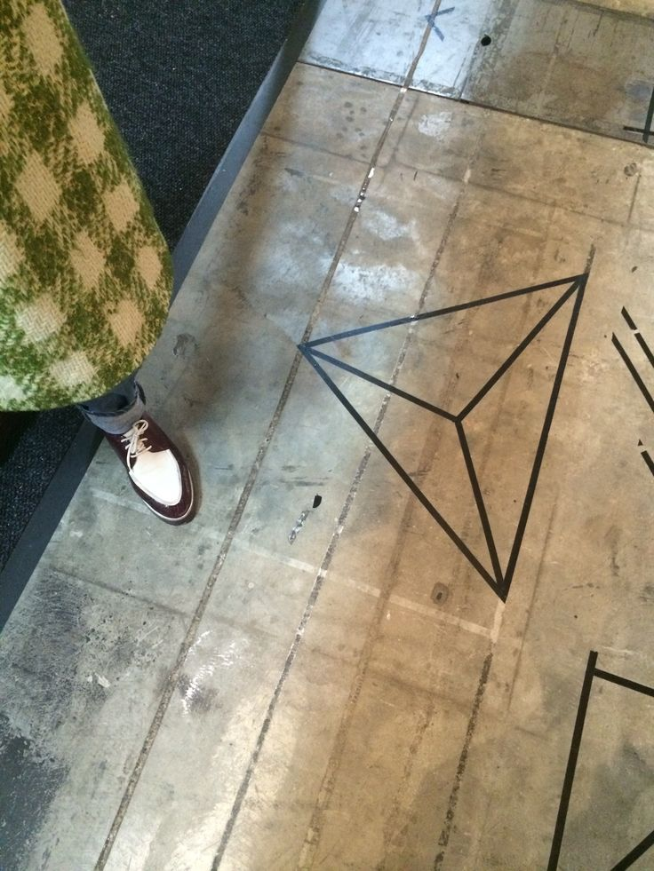Some Atang inspiration at 100% Design 2014 with Laureen Rossouws fancy pants in the shot.
