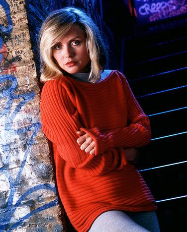 The lead singer of the band Blondie was put up for adoption when she was only 3 months of age.  She went on to greatly impact the music industry and pioneer in the genre of American new wave music in the mid 1970s.