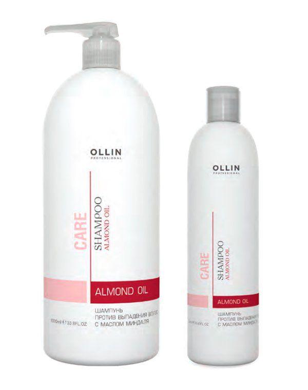 Шампунь против выпадения волос с маслом миндаля Almond Oil Shampoo Ollin купить от 228 руб в Созвездии красоты