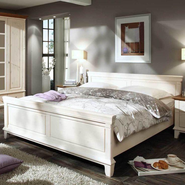 Holzbett weiß 160x200  Die besten 25+ Kingsize bett Ideen auf Pinterest | Betten bei ikea ...