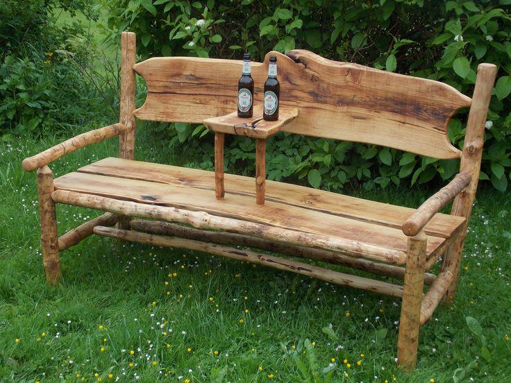 bank aus esche und robinie all things wood m bel holz b nke. Black Bedroom Furniture Sets. Home Design Ideas