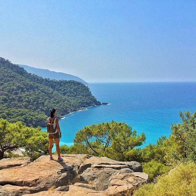 #Kabak Beach near #Faralya #Oludeniz #Turkey