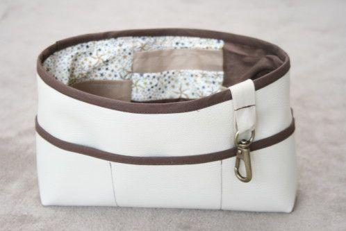 90 best tuto couture images on pinterest couture facile - Tuto organisateur de sac ...