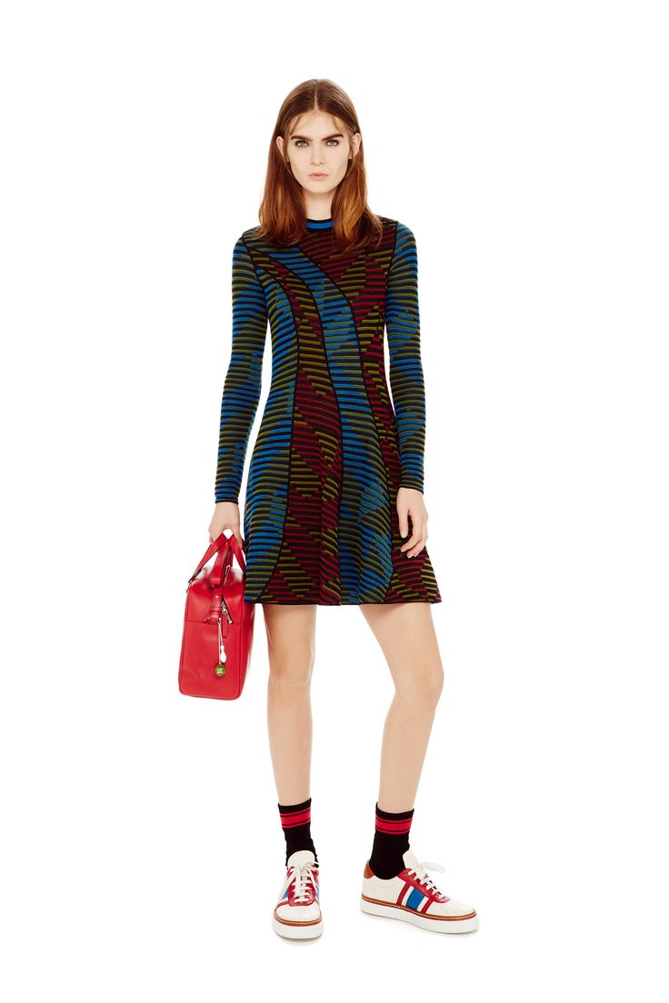 M-Missoni - ASYMMETRIC BAND DRESS