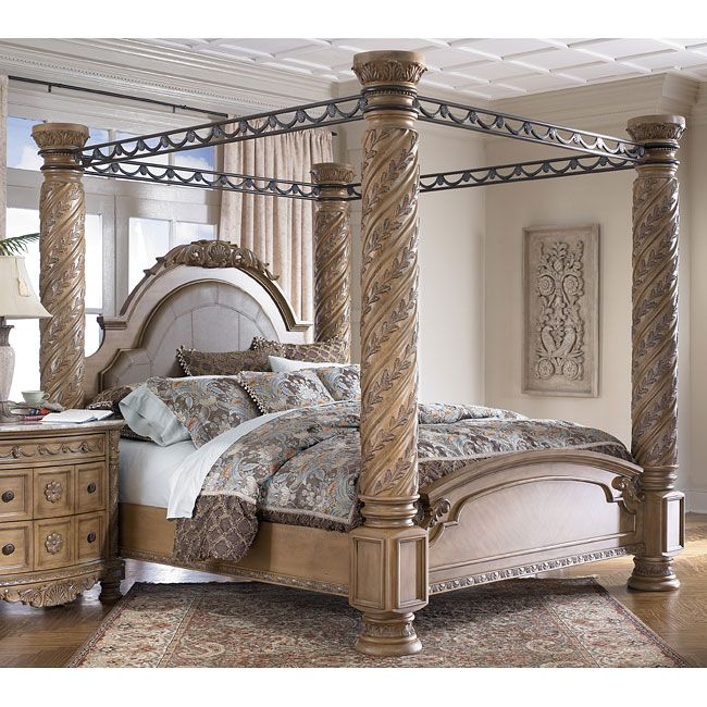 1000 images about bedroom furniture on pinterest for Elegant canopy bedroom sets