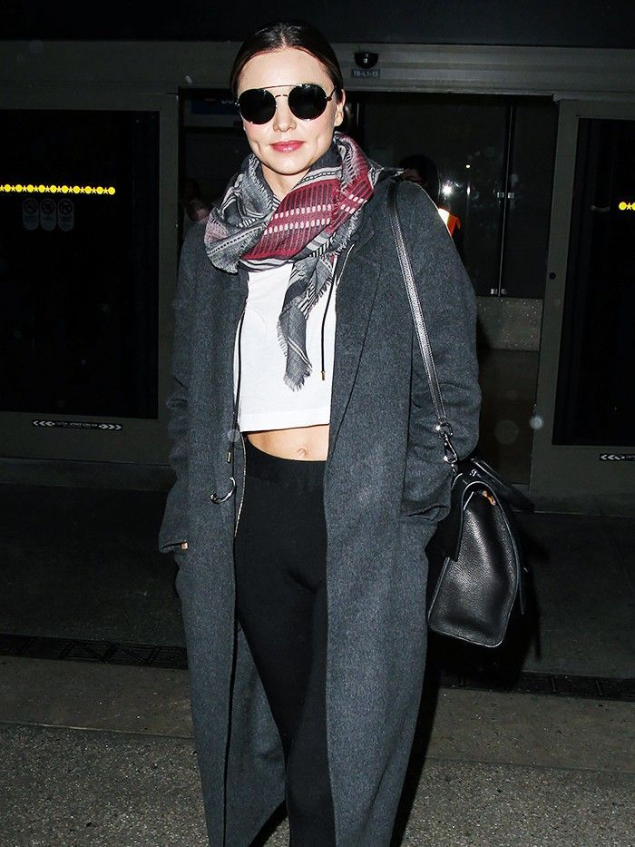 The Best Outfit Combinations to Wear to the Airport via @WhoWhatWear