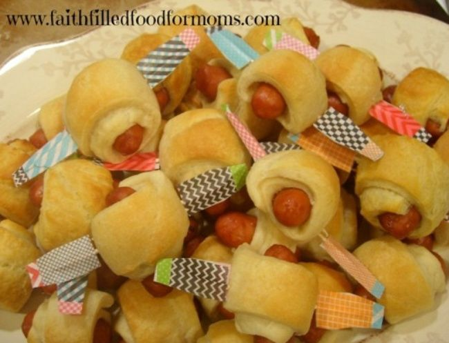 Little Smokies Airplane Appetizers