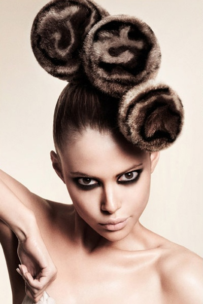 Intricate And Intense Artistic Updo Avant Garde