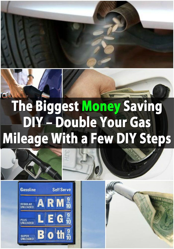The Biggest Money Saving DIY - Double Your Gas Mileage With a Few DIY Steps