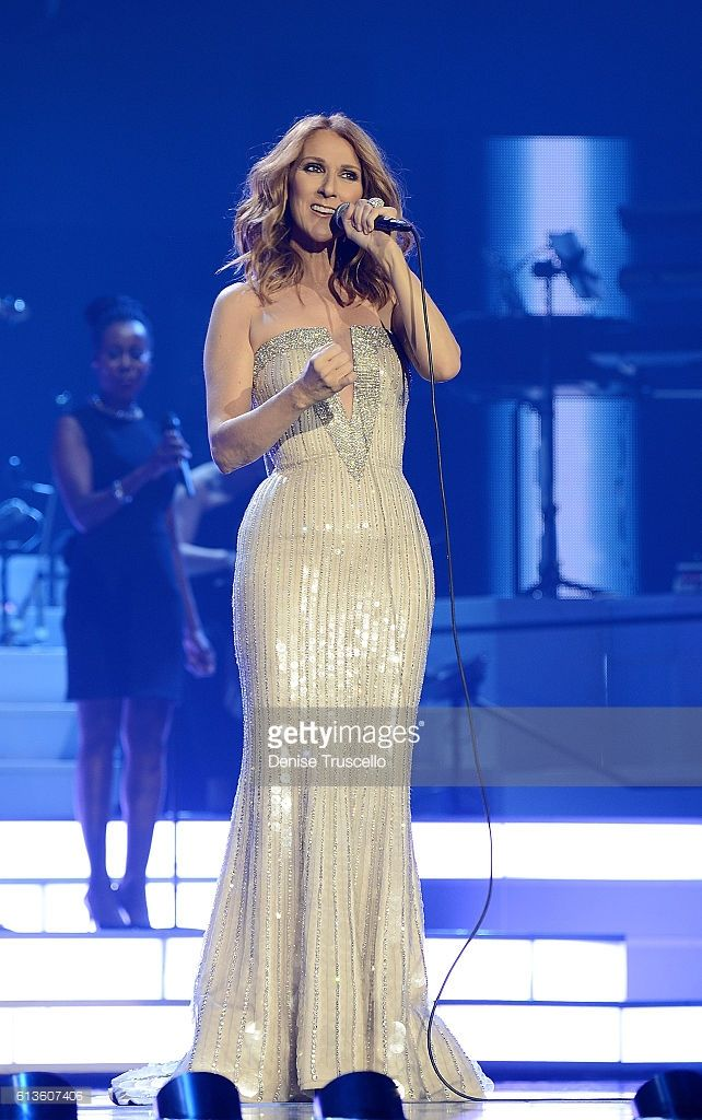 Celine Dion celebrates her 1,000th show at The Colosseum at Caesars Palace on October 8, 2016 in Las Vegas, Nevada.