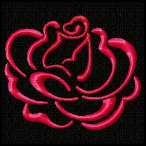 Roses are Red Machine Embroider Design Set with a gorgeous FREE sample for you to download.  Thanks Donna, the entire set is lovely.