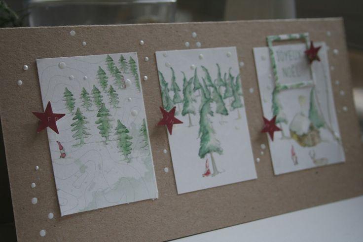 … doch auch auf einer meiner Karten gelandet… der kleine Weihnachtswichtel… aus dem Kärtchenbogen. Und da ich Geschichten sehr mag, ...