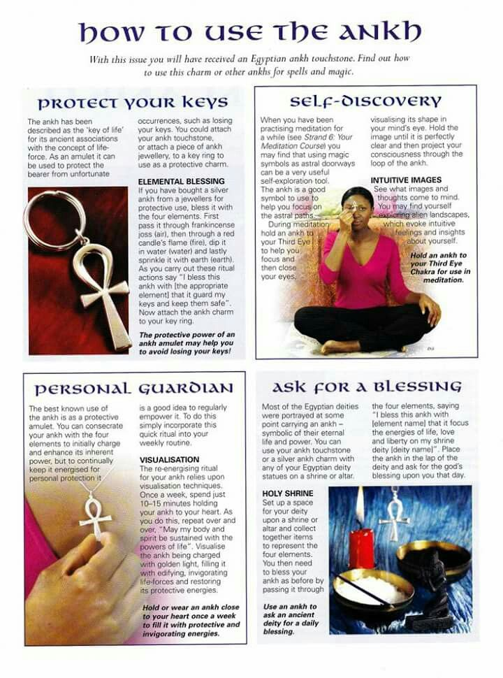 How to use the Ankh