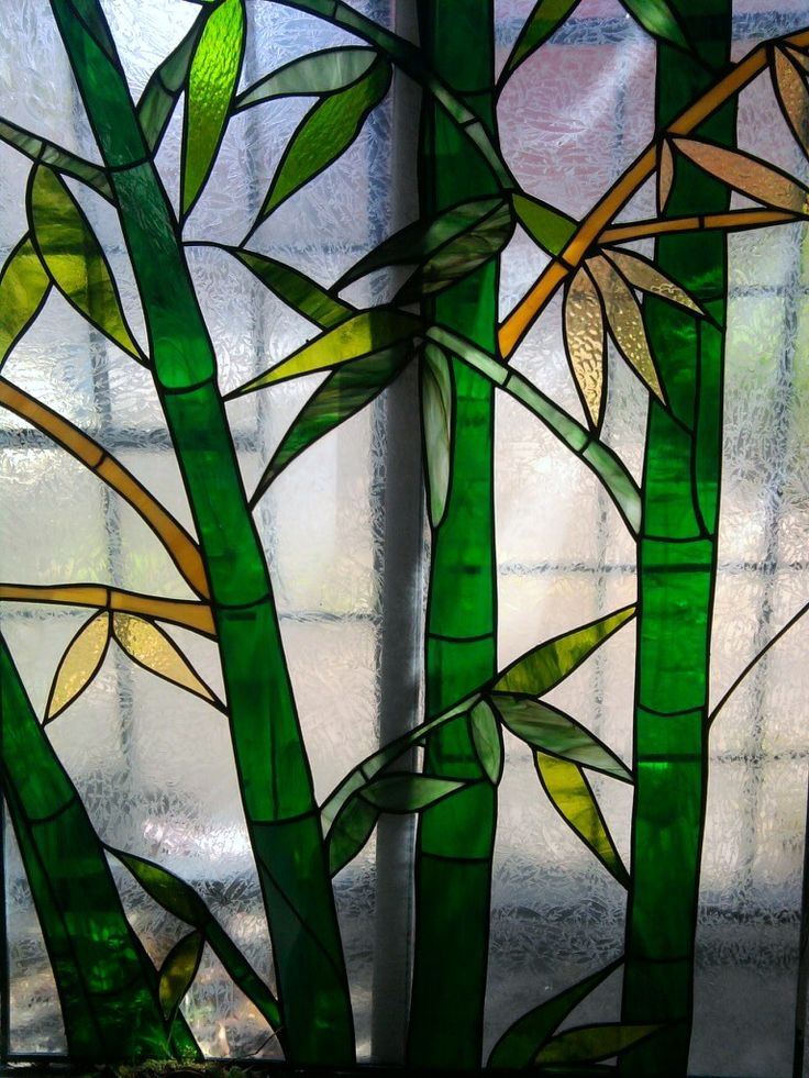 Stained Glass Bamboo Grove By Artistic Glass Hf Stained