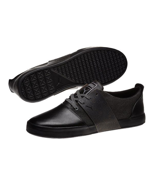 This Black & Steel Gray El Ace 3 Wool Sneaker - Men by PUMA is perfect ·  PumasDress ShoesCollarsSneakerContrast ...