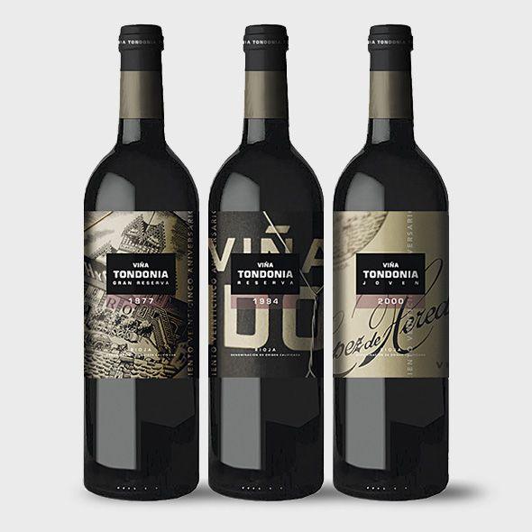 Label / Viña Tondonia 125 Aniversario, Rioja / wine