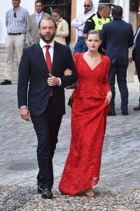 Las invitadas al enlace de Lady Charlote Wellesley y Alejandro Santo Domingo en Granada, las mejor vestidas del año.