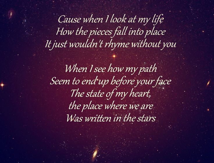 Westlife - Written in the Stars. song lyrics,