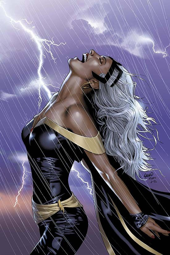 """COMIC: """"Storm Uncanny X Men"""" _____________________________ Reposted by Dr. Veronica Lee, DNP (Depew/Buffalo, NY, US)"""