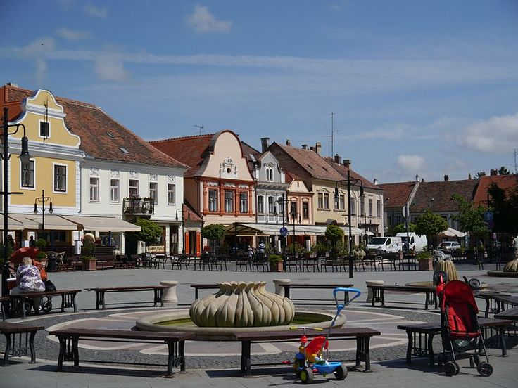 Old town of Köszeg, Western Hungary