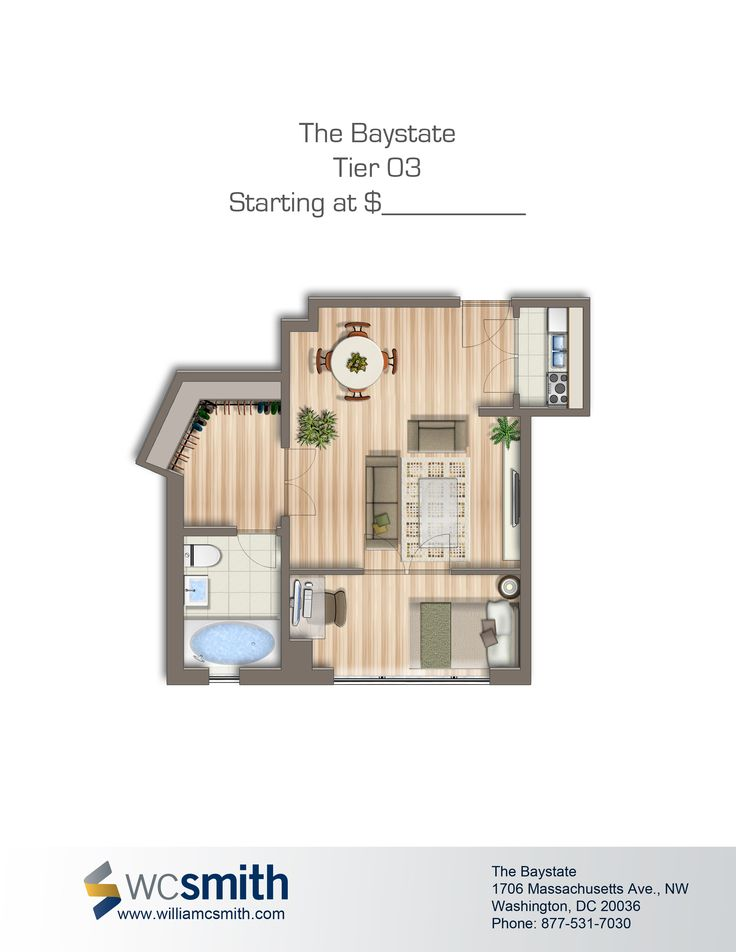 Baystate Apartments. Bedroom Floor PlansOne ...