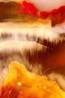 Microscoopfoto van een Jaspis