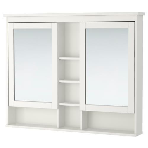 HEMNES Ντουλάπι καθρέφτης με 2 πόρτες - IKEA