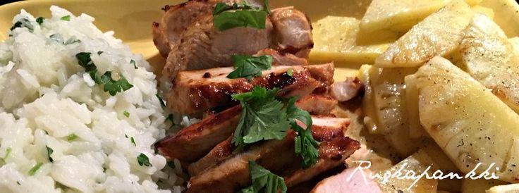 Ruokapankki: Makea ananaskana ja limeriisiä #ruokapankki #ruokablogi #foodie #sweet #food #ruoka