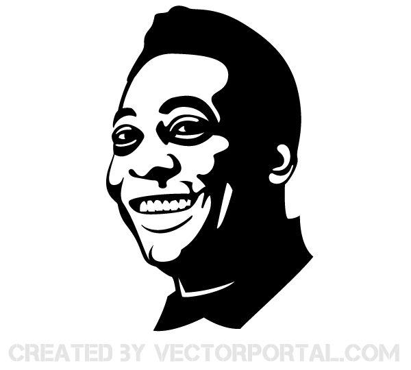 Vector Portrait, Portrait, Silhouette