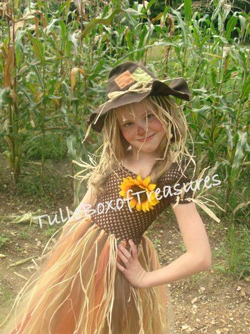 Scarecrow Tutu costume by TulleBoxofTreasures on Etsy