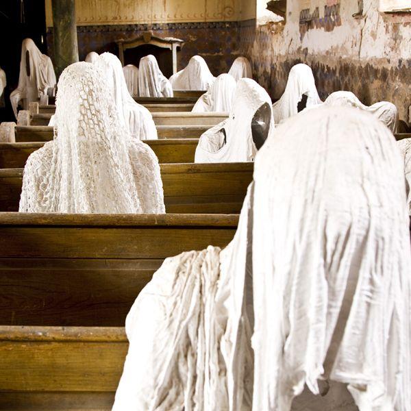 Lukova Ghost church