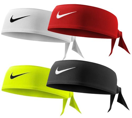 Check out these Nike Tie Headbands!