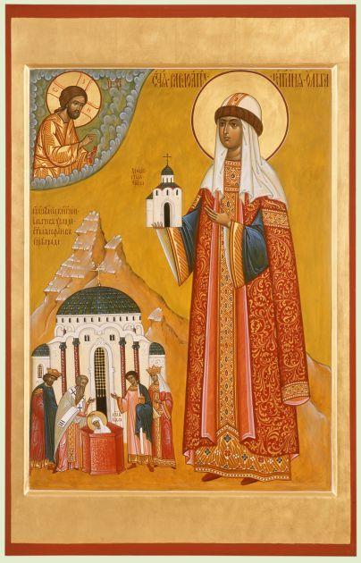 Αγια Ολγα Η Ισαποστολος (μετονομασθεισα Ελενη) Η Βασιλισσα (; - 969)_11 Ιουλίου