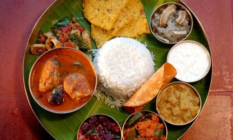 #DesiIs having South Indian thali