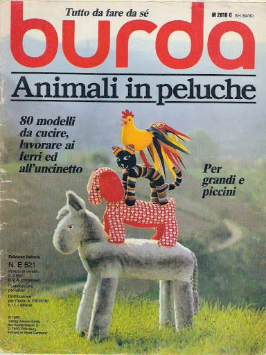 Burda Animali in peluche - santa mirella Naimo - Picasa Webalbumok
