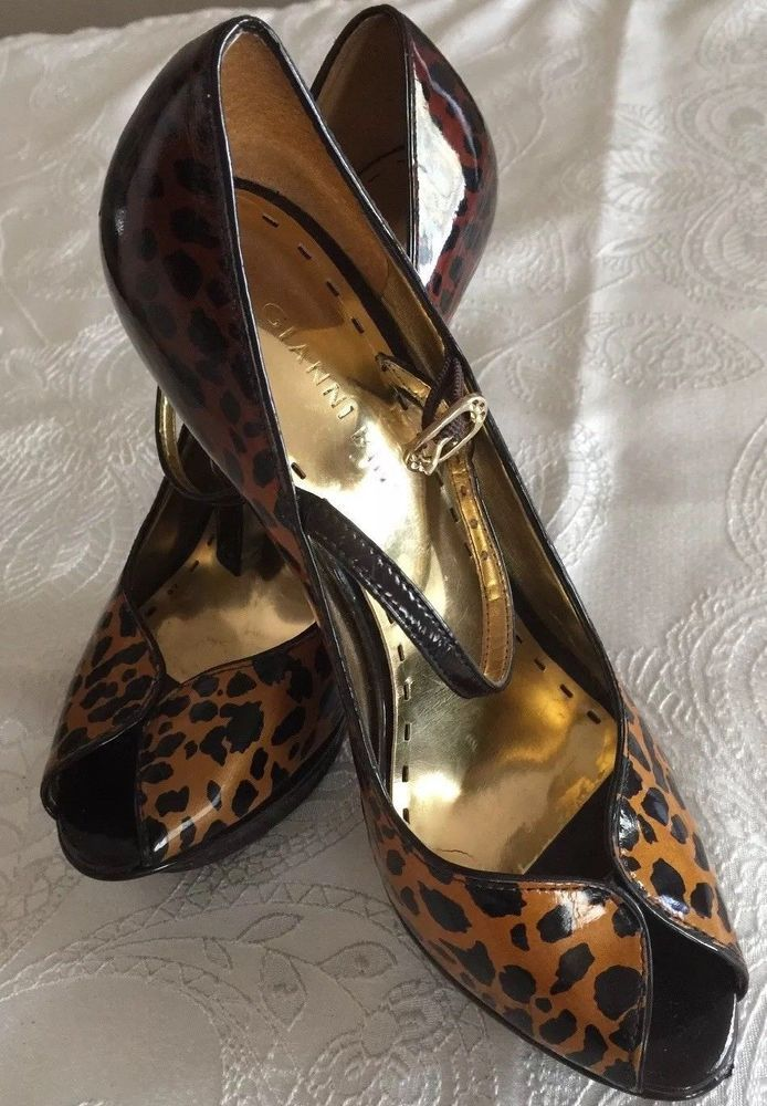 b883f6f7469 Gianni Bini Women s Size 7 Open Toed High Heel Leopard Design  fashion   clothing  shoes  accessories  womensshoes  heels (ebay link)