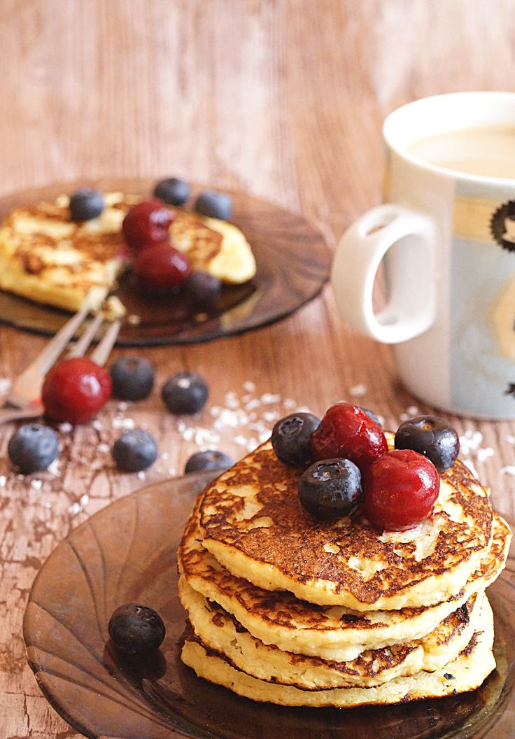#Coconut #Paleo #Pancakes #foodphotography #foodstyling #breakfast