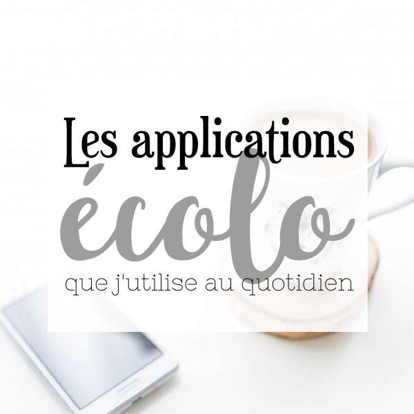 Je partage avec vous mes applications écolo préférées sur mon blog : http://bit.ly/2mIIPmW  Fruits et légumes de saison, défi écolo, bonnes adresses, anti-gaspillage etc ...
