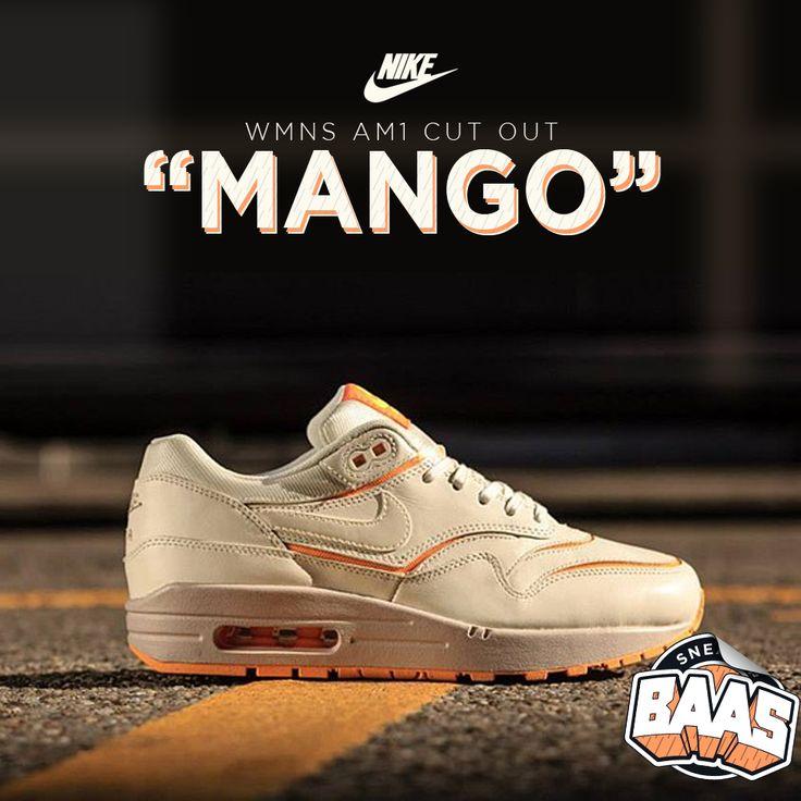 "Nike Wmns AM1 Cut Out ""Mango""  | Boom, summer fresh! | www.sneakerbaas.nl | #NIKE #AM1 #FRESH #SNEAKERBAAS code: 644398-100"