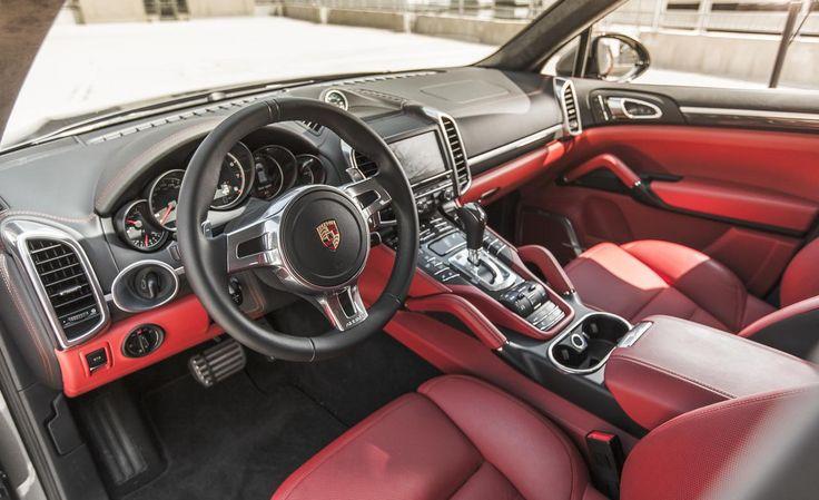 2016 porsche cayenne interior edmunds pics porsche and range rover pinterest interiors and porsche - 2016 Porsche Cayenne Interior