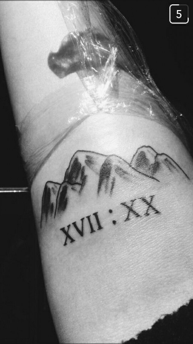 Matthew 17 20 Truly I Tell You If You Have Faith As Small As A Mustard Seed You Can Say To This Mountain Move From Here To There A Small Tattoos Tiny Tattoos