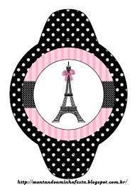 Resultado de imagem para kit digital festa paris tiffany e rosa